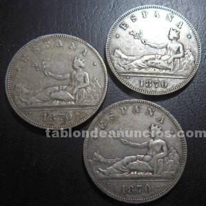 España - 5 pesetas .