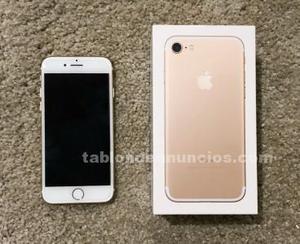 Iphone 7 nuevo 128 gb gold