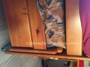 Vendo cama nido madera maciza
