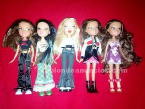 Muñecas bratz, winx y complementos