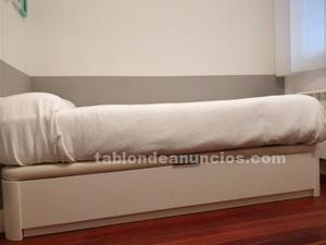 Canapé arcón de cama 90x190 cm