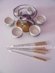 Juego de fondue giratorio