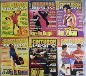 26 revistas de artes marciales 'décimo dan', 'karateka',