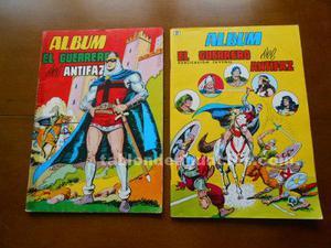 El guerrero del antifaz. Albumes nº 1 y 2