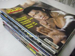 Lote de 38 revistas de artes marciales ''dojo''