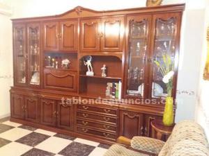 Mueble comedor, sofá y dos sillones