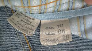 Pantalón vaquero jeans