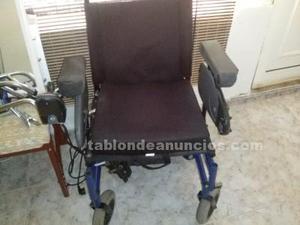 Vendo silla de ruedas electica en buen estado