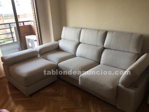 Vendo sofa chaise longue