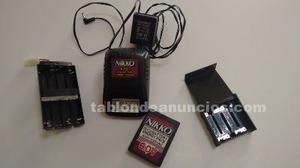 Se vende cargador marca nikko de 6.0 v. Con batería de 620