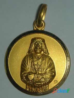 MEDALLAS JESUS DE MEDINACELI EN ORO Y EN PLATA,distintos
