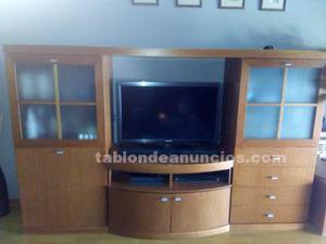 Mueble de comedor color cerezo