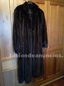 Vendo abrigo de visón en perfecto estado