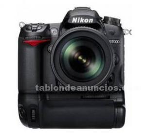 Potente cámara profesional réflex nikon d + accesorios