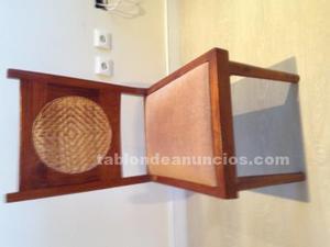 Seis sillas de salón