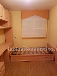 Dormitorio juvenil nuevo cama nido