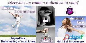 Formación Intensiva de Thetahealing + Vacaciones en Málaga