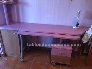 Urge venta mesa de estudio con muebles