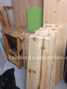 Tablas de madera de abeto