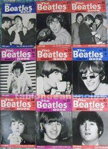 Revistas ''the beatles monthly book'' - nueve números