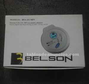 Vendo discman, marca: belson, modelo bsa-211 mp3. Sin usar.