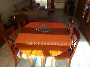 Vendo mesa extensible y 4 sillas