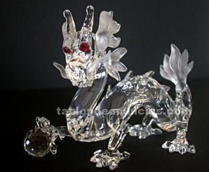 The dragon swarovski año