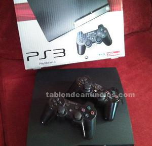 Playstation 3 slim de 250 gb 2 mandos
