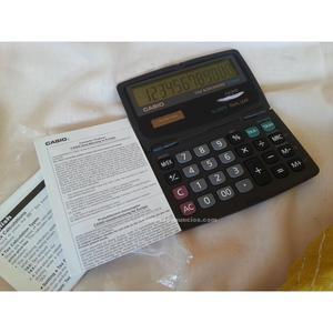 Calculadora casio vintage. Modelo sl-220 te. Funcionando.