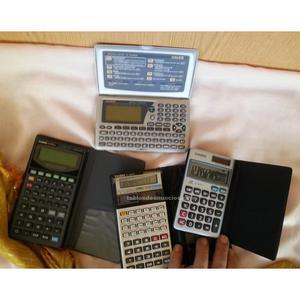 Calculadoras casio. 4 unidades. Todas máquinas viejas.