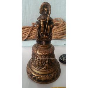 Campanilla, llamador de bronce. Muy bonita pieza. Old bell,