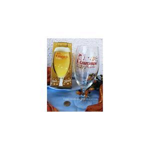 Vieja copa de cerveza (colección) cruzcampo navidad .