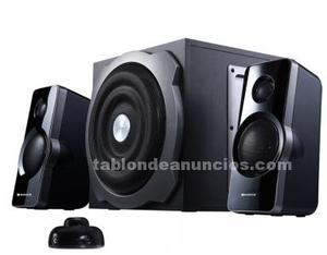 Altavoces 2.1 con subwofer marca wortex