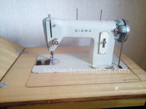 Maquina de coser sigma - c/ mueble