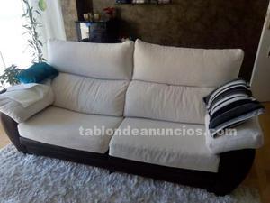 Sofa con asientos extraibles