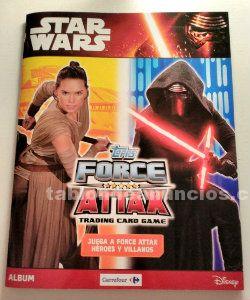 Cromos star wars force attax + rogue one (colección