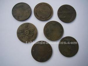 Medallas conmemorativas ctne en bronce
