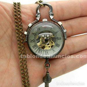 Reloj de bola de cristal a cuerda no cuarzo,funcionando