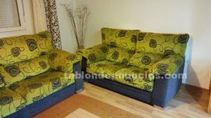 Sofas de tres y dos plazas