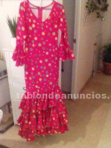 Vendo traje de flamenca talla
