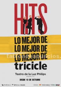 Vendo 2 entradas para hits del tricicle jueves 25 enero a la