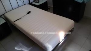 Cama articulada y colchón 90x190
