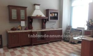 Muebles de cocina de exposición esther nogal