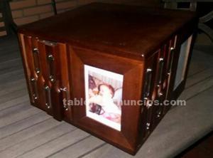 Porta fotos de madera