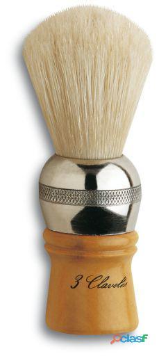 3 Claveles Brocha Barbera Pelo Cerda Madera Caja 104.66 gr