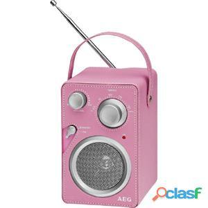 AEG Radio de diseño Rosa MR 4144