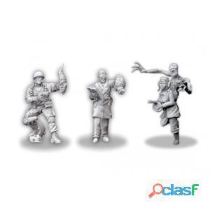 Achtung! cthulhu miniaturas: investigadores de los aliados: