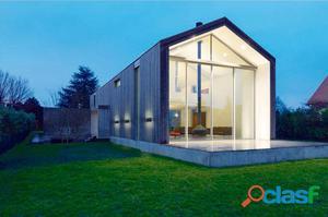 Aplique pared cuadrado exterior antracita Zig LED 15W 3000K