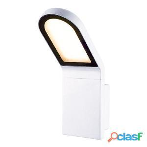 Aplique pared exterior blanco Castello LED 9W 3000K 666Lm