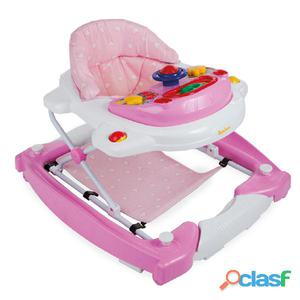 Baninni Andador para bebés 2 en 1 Classic rosa BNBW002-LPK